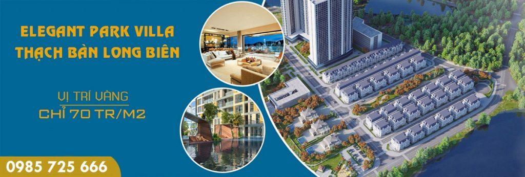 Mở bán Elegant Park Villa Thạch Bàn - MIK Group