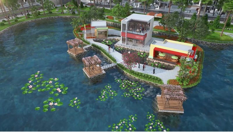 Nhà hàng dự án Kosy Eden Xương Giang - Bắc Giang