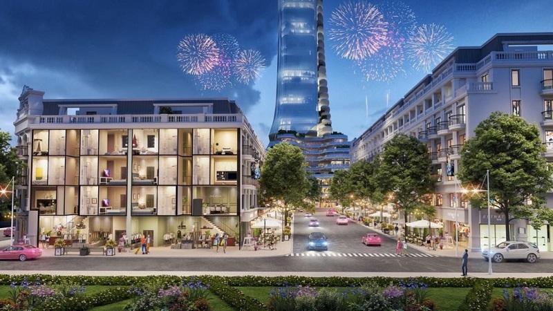 Nhà phố thương mại dự án TNR Grand Palace Tuy Hòa - Phú Yên