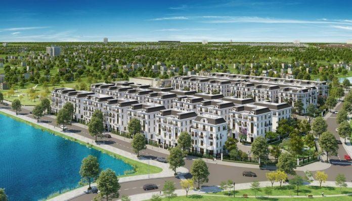 Phối cảnh 1 Elegant Park Villa Thạch Bàn - MIK Group