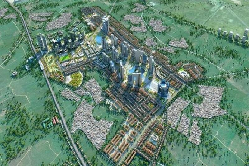 Phối cảnh 2 dự án Hinode Garden City Kim Chung - Di Trạch - Hoài Đức