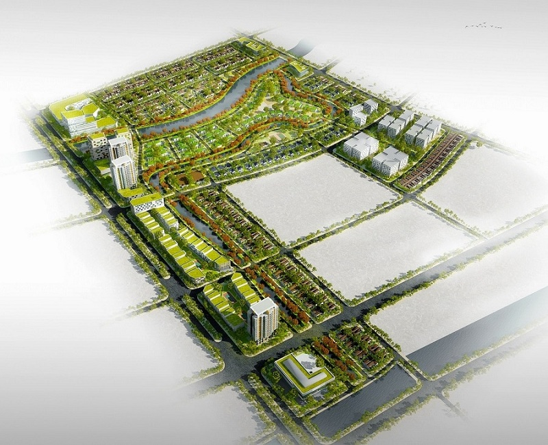Phối cảnh 2 dự án Vinh Heritage Mipec Tràng An - Nghệ An