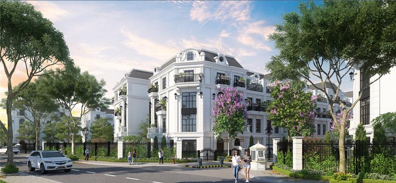 Phối cảnh 3 Elegant Park Villa Thạch Bàn - MIK Group