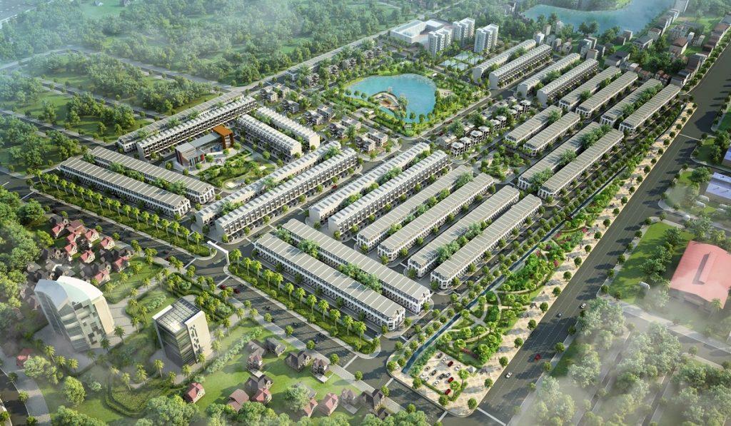 Phối cảnh dự án Kosy Eden Xương Giang - Bắc Giang
