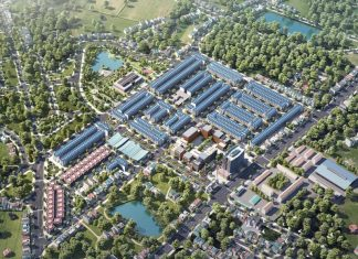 Phối cảnh dự án TNR Stars Thắng City - Bắc Giang
