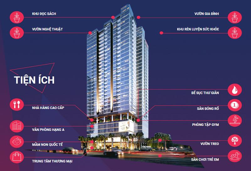 Phối cảnh tiện ích chung cư The Nine Tower số 9 Phạm Văn Đồng - GP Invest