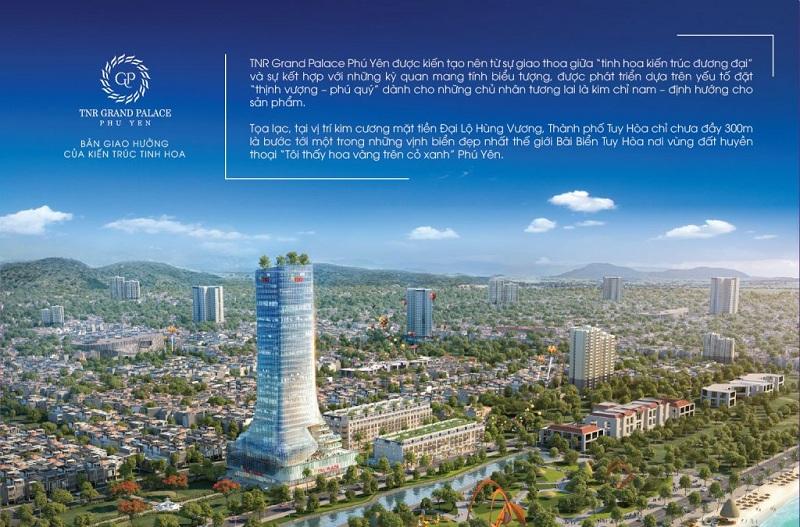 Phối cảnh dự án TNR Grand Palace Tuy Hòa - Phú Yên