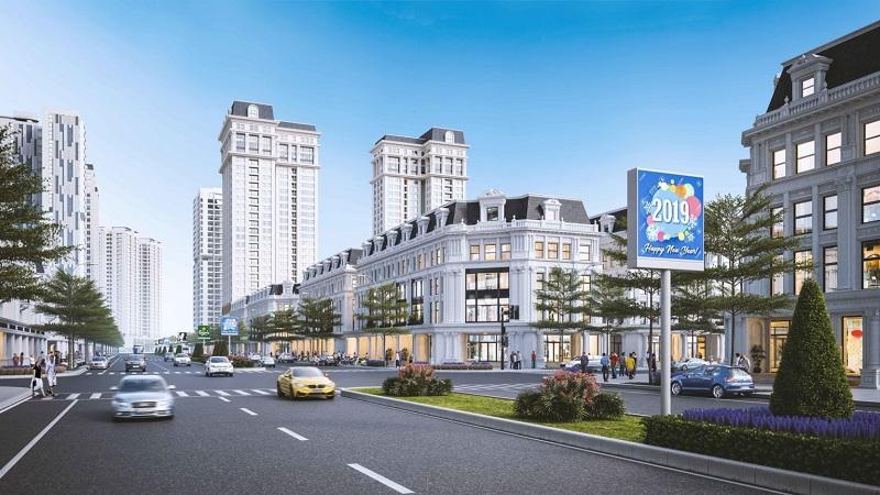 Shophouse dự án Hinode Garden City Kim Chung - Di Trạch - Hoài Đức