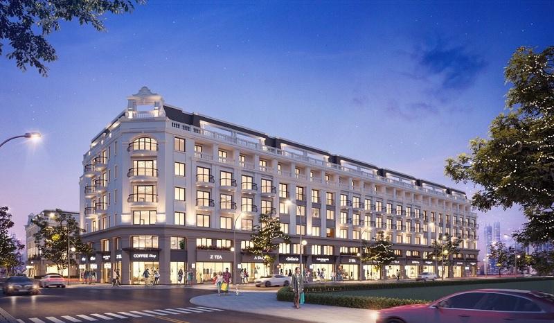 Shophouse dự án TNR Grand Palace Tuy Hòa - Phú Yên