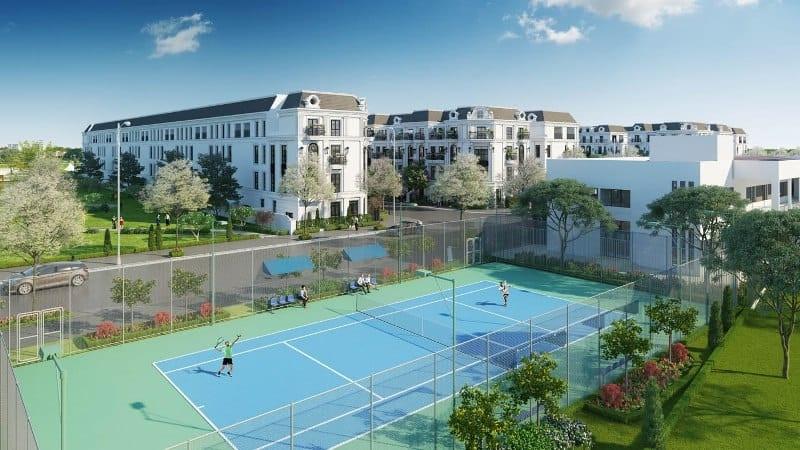 Tiện ích thể thao Elegant Park Villa Thạch Bàn - MIK Group