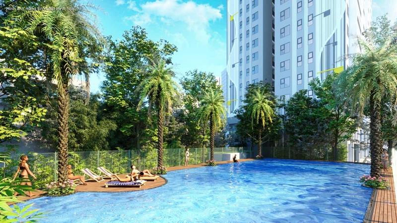 Bể bơi Berriver Jardin 390 Nguyễn Văn Cừ - BRG Group