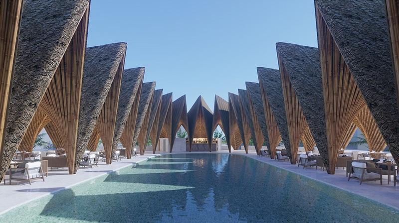 Bể bơi Ivory Villas & Resort Lương Sơn - Hòa Bình