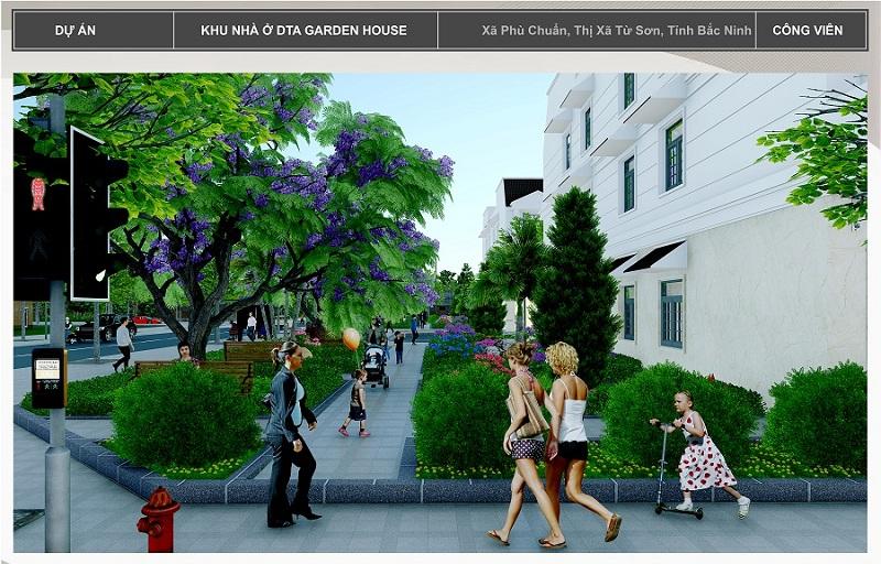 Công viên dự án DTA Garden House VSIP Bắc Ninh