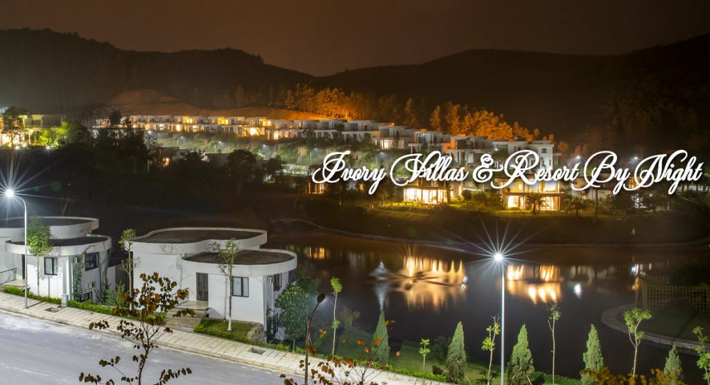Ivory Villas & Resort Lương Sơn - Hòa Bình về đêm
