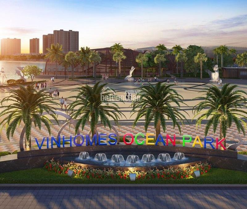 Vinhomes Ocean Park gần kề dự án Hanhomes Blue Star Trâu Quỳ Handico 5