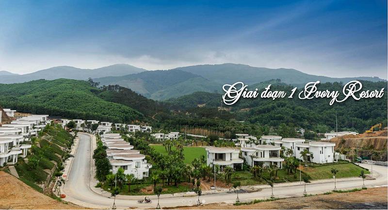 Giai đoạn 1 Ivory Villas & Resort Lương Sơn - Hòa Bình