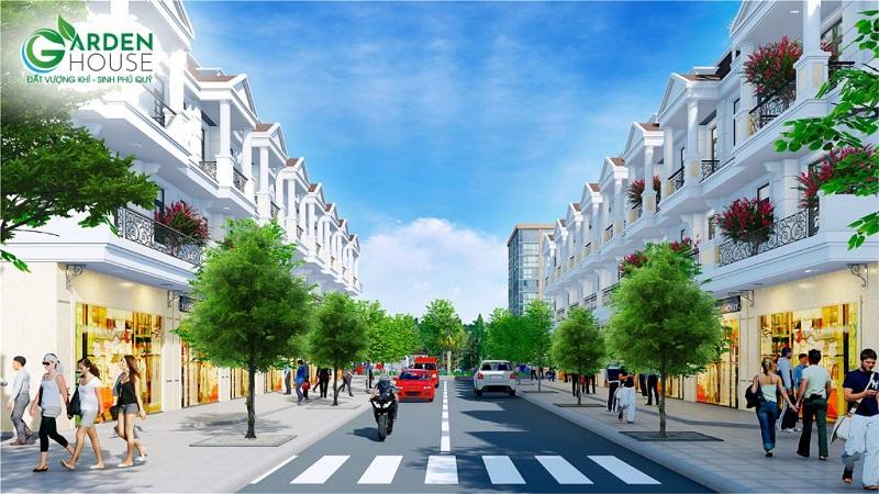 Hạ tầng dự án DTA Garden House VSIP Bắc Ninh