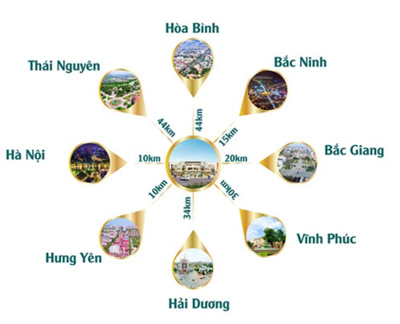 Kết nối Centa Diamond Việt Nhân VSIP Bắc Ninh