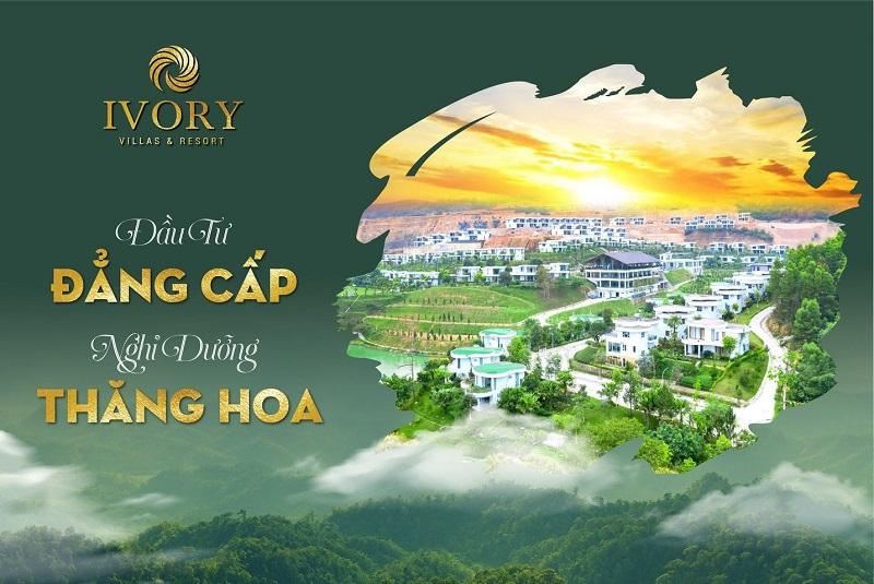 Mở bán phân khu mới dự án Ivory Villas & Resort Lương Sơn - Hoà Bình