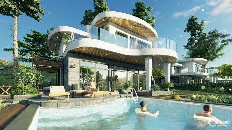 Phối cảnh 3 biệt thự Ivory Villas & Resort Lương Sơn - Hòa Bình