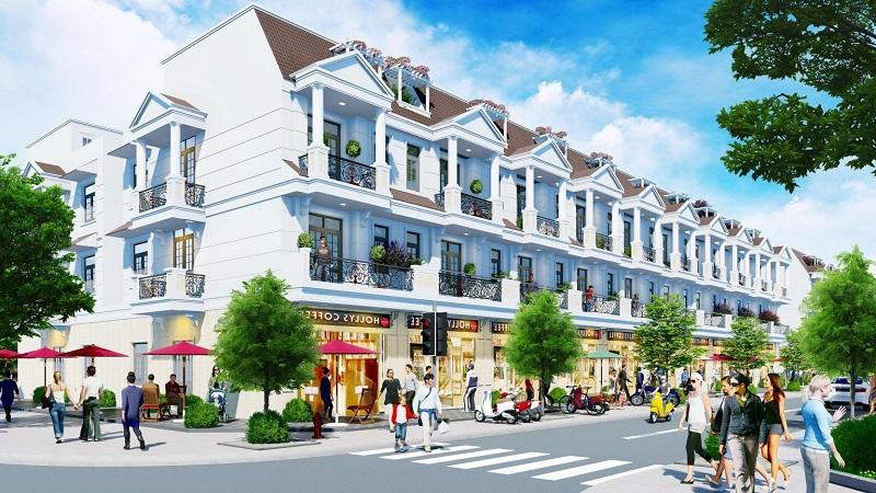 Phối cảnh 3 dự án DTA Garden House VSIP Bắc Ninh