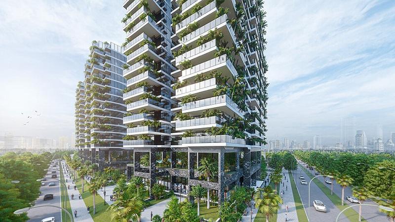 Phối cảnh 3 dự án Sunshine Green Iconic Long Biên
