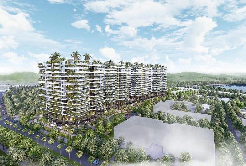 Phối cảnh 5 dự án Sunshine Green Iconic Long Biên