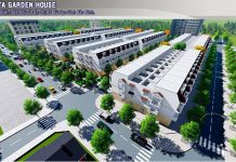 Phối cảnh dự án DTA Garden House VSIP Bắc Ninh