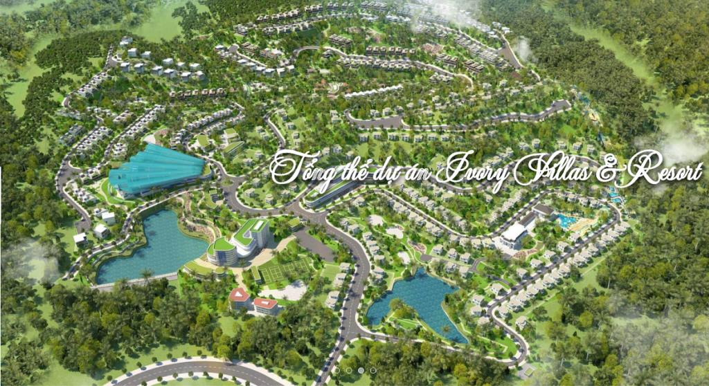 Phối cảnh Ivory Villas & Resort Lương Sơn - Hòa Bình