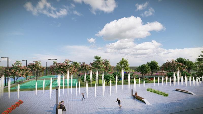 Quảng trường Hanaka Paris Ocean Park Từ Sơn - Bắc Ninh