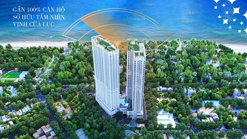 Tầm view panorama dự án chung cư The Ruby Hạ Long MBLand