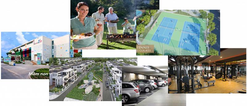 Tiện ích 2 dự án DTA Garden House VSIP Bắc Ninh