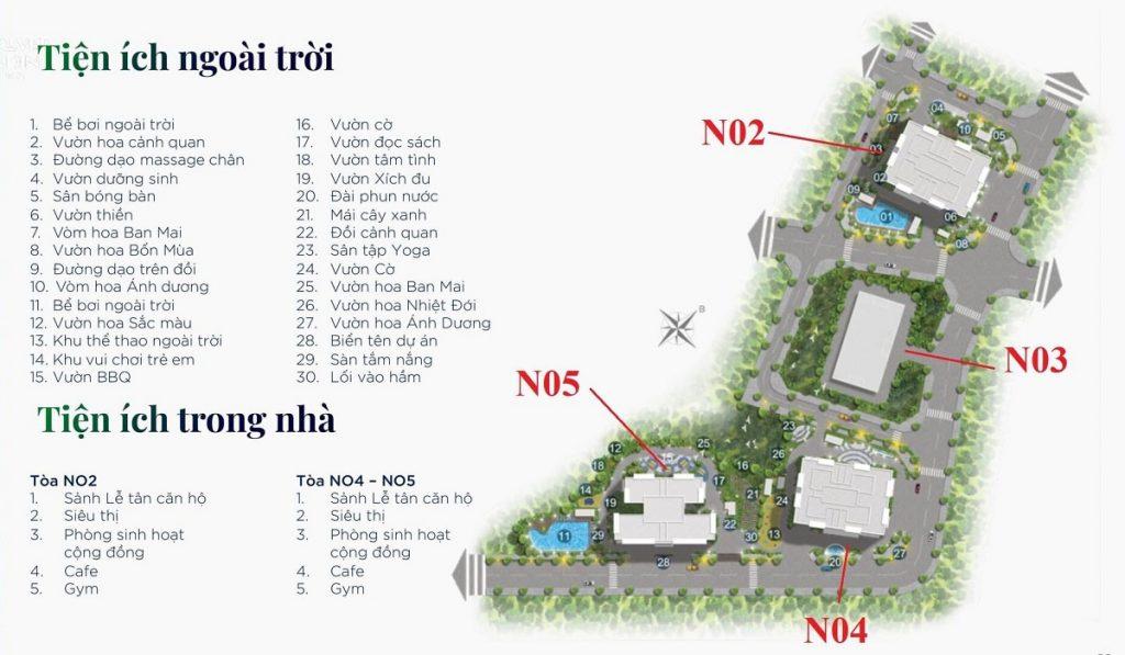 Tiện ích Berriver Jardin 390 Nguyễn Văn Cừ - BRG Group