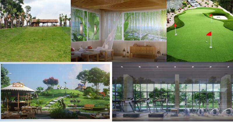Tiện ích Ivory Villas & Resort Lương Sơn - Hòa Bình