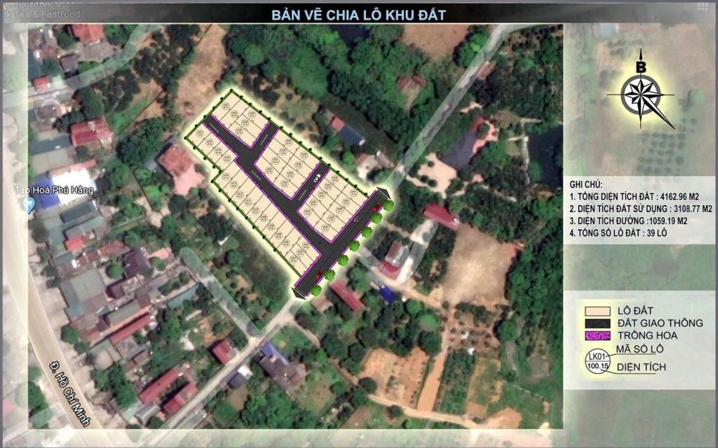 Tổng quan khu 39 Lô Phú Cát - Hòa Lạc