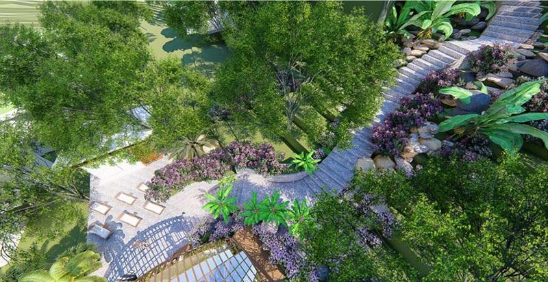 Tuyến đường dạo bộ Ivory Villas & Resort Lương Sơn - Hòa Bình