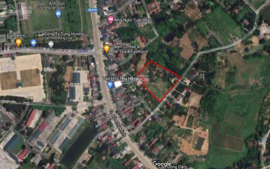 Vị trí dự án 39 Lô Phú Cát - Hòa Lạc