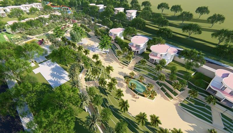 Vườn sinh học Ivory Villas & Resort Lương Sơn - Hòa Bình