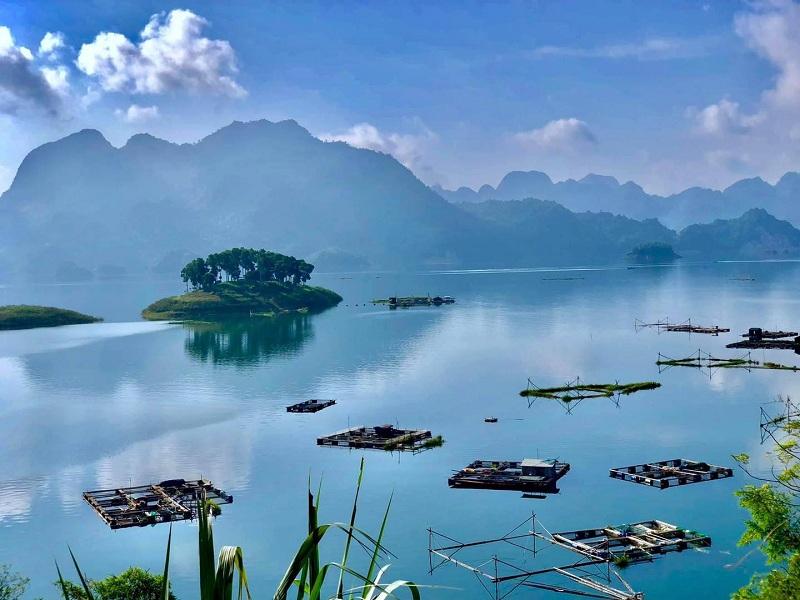 Ảnh Hồ Hòa Bình ParaHills Resort