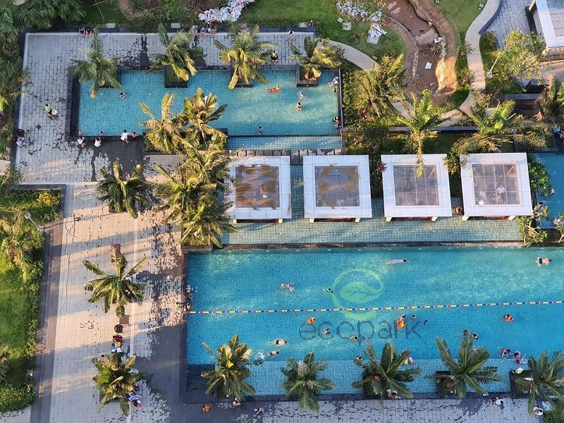 Bể bơi Ecoriver Hải Dương (Ecopark)