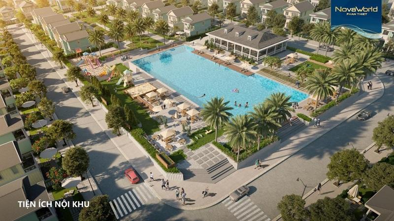 Bể bơi dự án Novaworld Phan Thiết - Bình Thuận