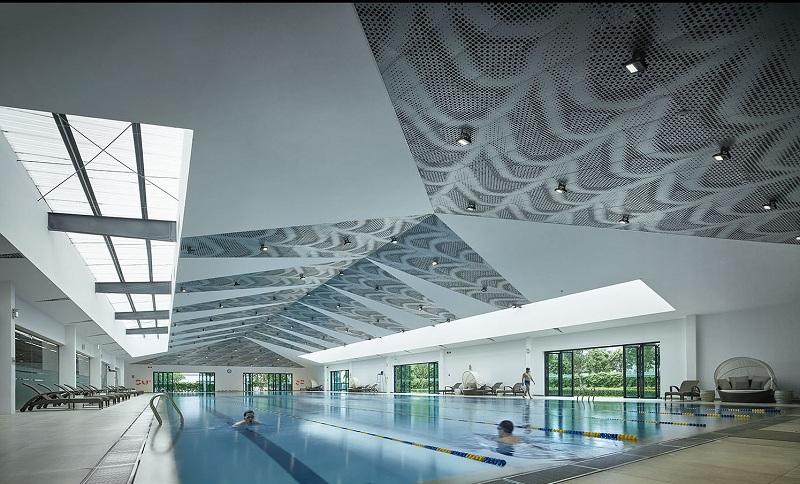 Bể bơi tiêu chuẩn khu đô thị Park City Hà Đông