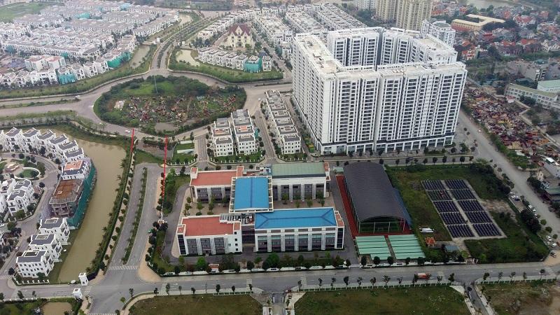Các tuyến đường đang được mở rộng qua Khu Đấu Giá C14 Phúc Đồng - Long Biên 2