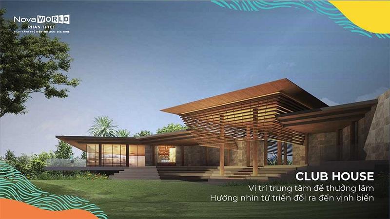 Clubhouse dự án Novaworld Phan Thiết - Bình Thuận