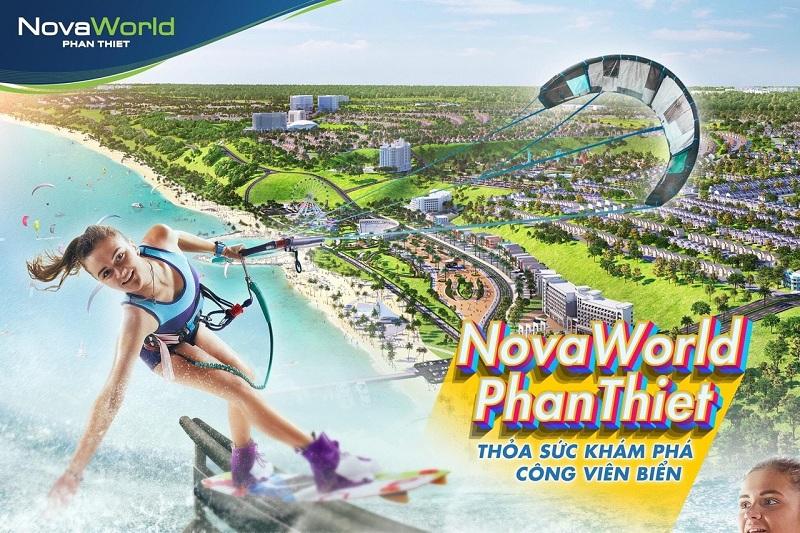 Công viên biển dự án Novaworld Phan Thiết - Bình Thuận