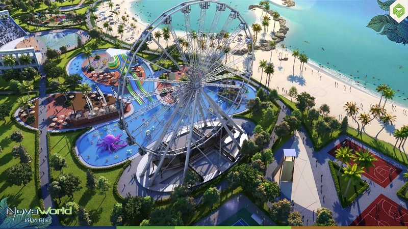 Công viên chủ đề dự án Novaworld Phan Thiết - Bình Thuận