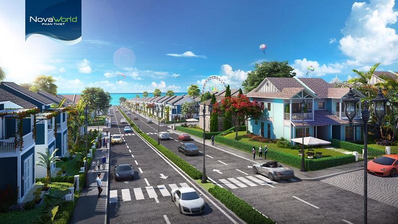 Đường nội bộ dự án Novaworld Phan Thiết - Bình ThuậnĐường nội bộ dự án Novaworld Phan Thiết - Bình Thuận