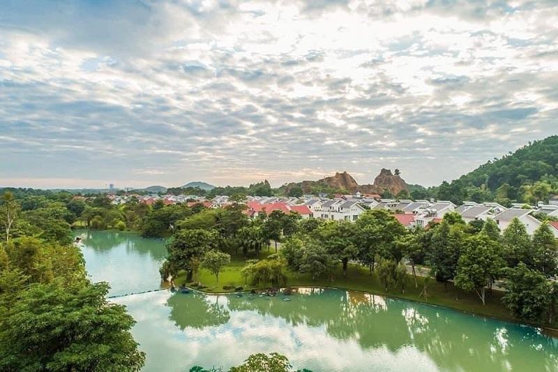 Hình ảnh thực tế 3 Xanh Villas Resort Hòa Lạc