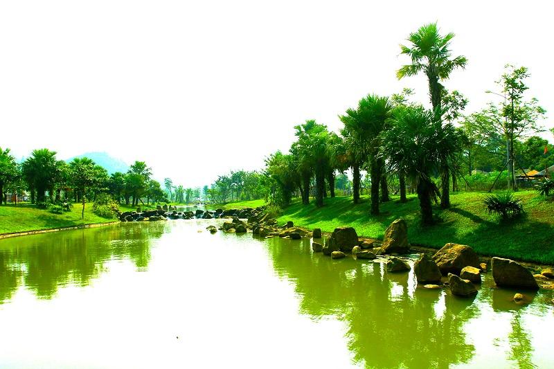 Hình ảnh thực tế 4 Xanh Villas Resort Hòa Lạc