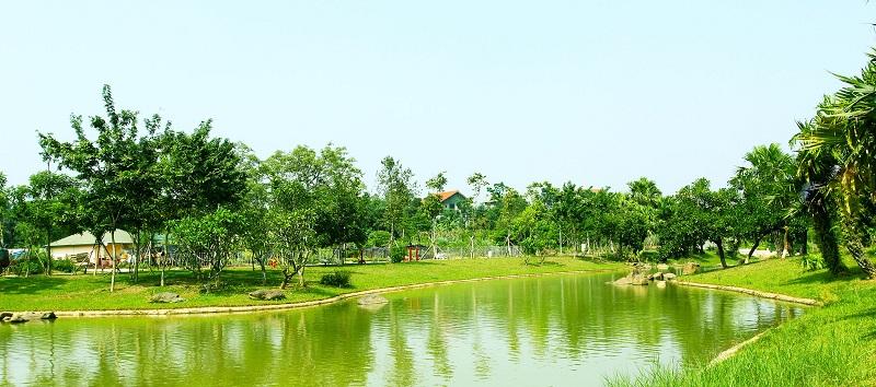 Hình ảnh thực tế 5 Xanh Villas Resort Hòa Lạc